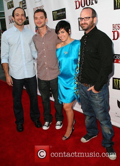 Dan Schreiber, Robert Traill, Monika Gosch and director...