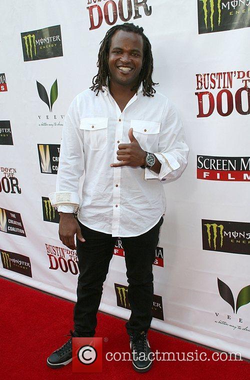 Sal Masakela Premiere of 'Bustin' Down The Door'...