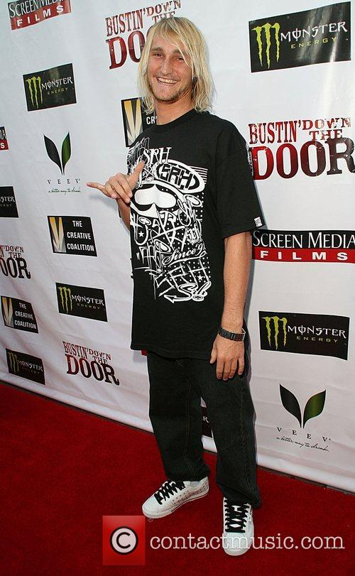 Premiere of 'Bustin' Down The Door' held at...