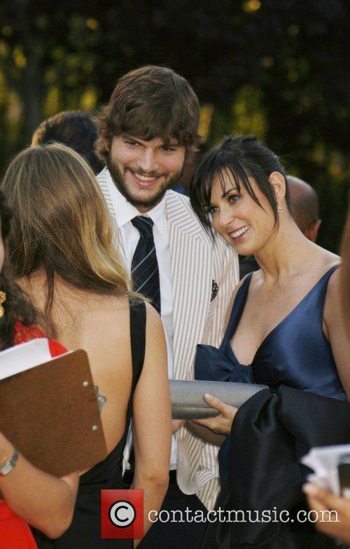 Ashton Kutcher and Demi Moore 7th Annual Chrysalis...