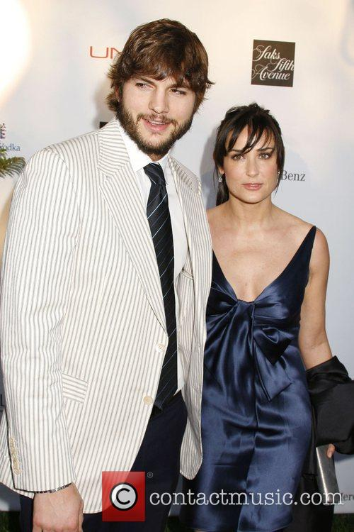Ashton Kutcher and Demi Moore 1