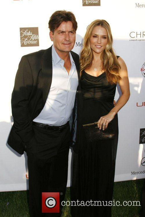 Charlie Sheen and wife Brooke Mueller 7th Annual...