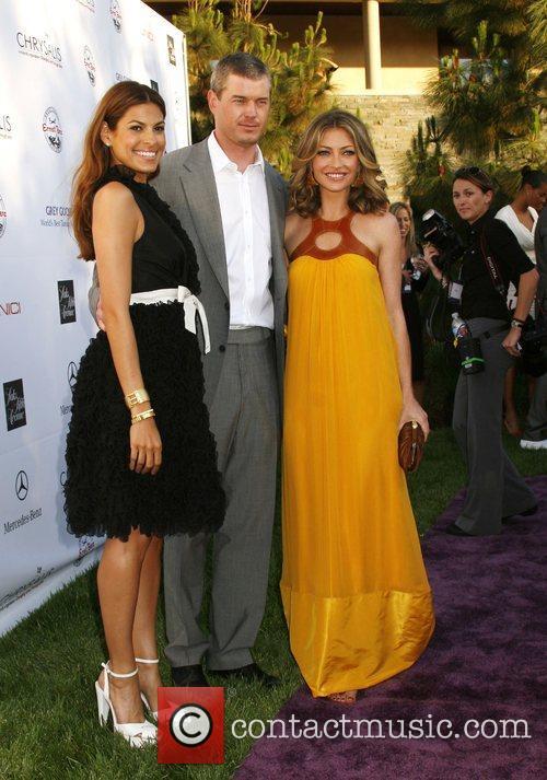 Eva Mendes, Eric Dane and Rebecca Gayheart 7th...