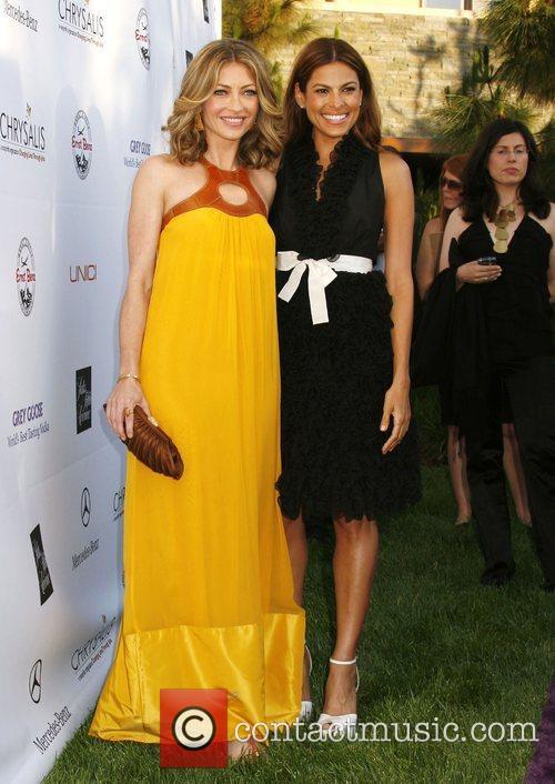 Rebecca Gayheart and Eva Mendes 7