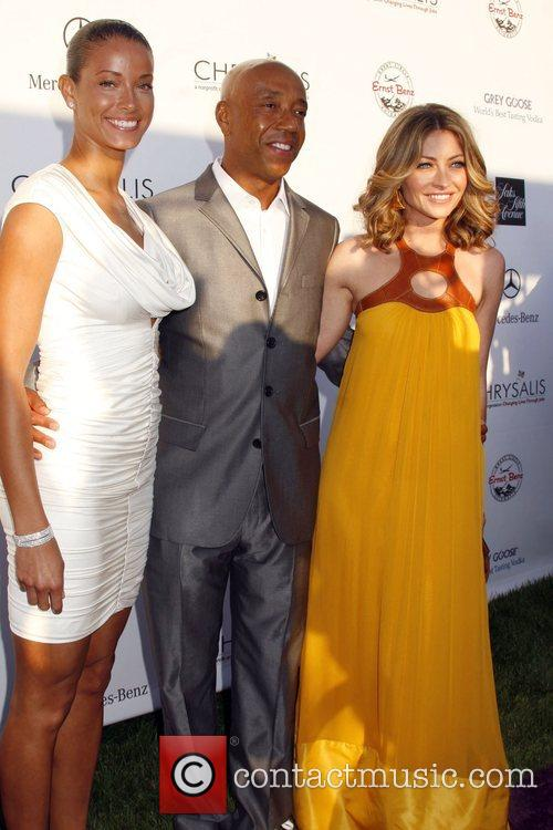 Russell Simmons and Rebecca Gayheart 2