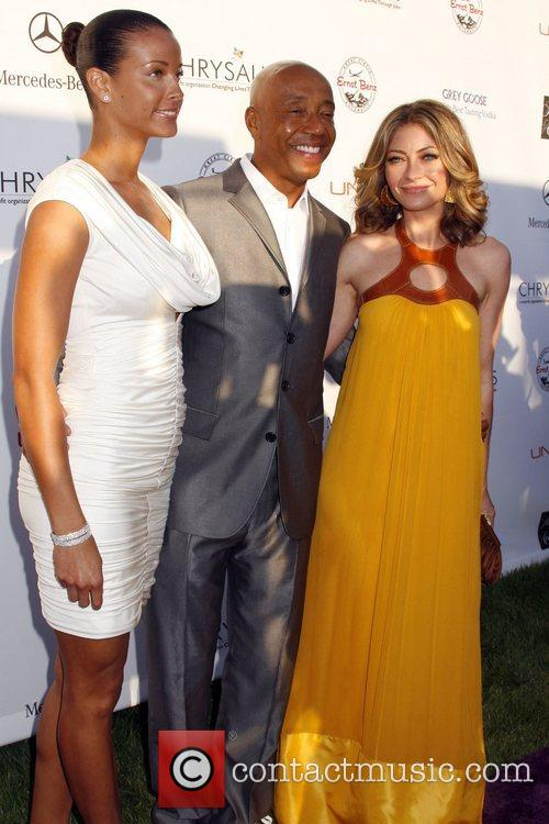 Russell Simmons and Rebecca Gayheart 1