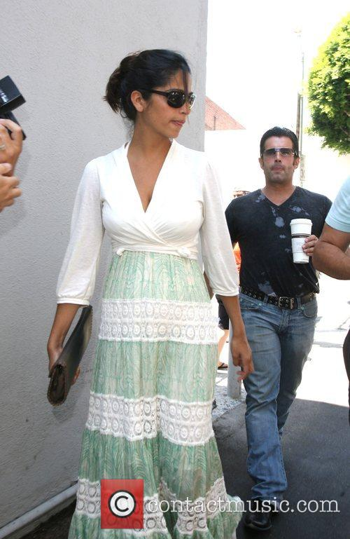 Camila Alves  out and about on Robertson...
