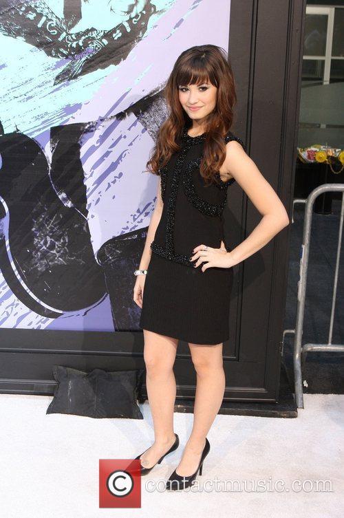 Demi Lovato, Disney and Ziegfeld Theatre 4