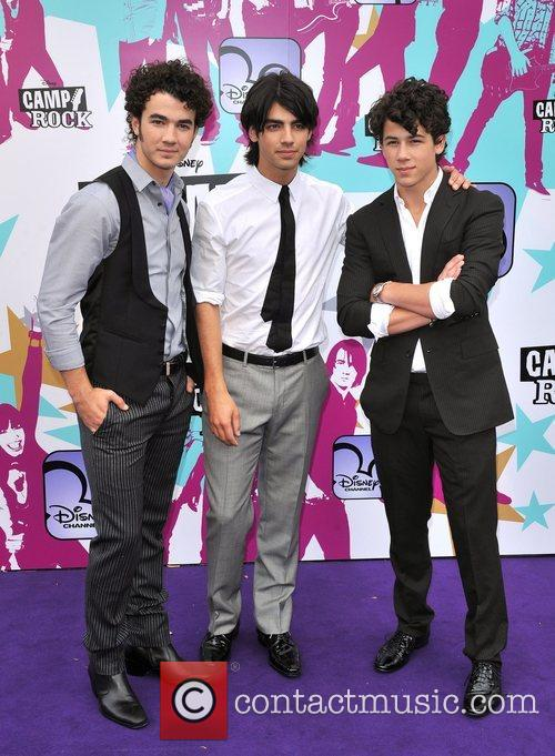 Joe Jonas, Nick Jonas and Kevin Jonas Camp...