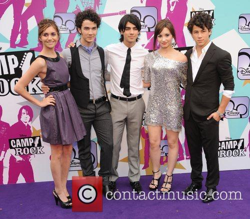 Alyson Stoner,The Jonas Brothers and Demi Lovato Camp...