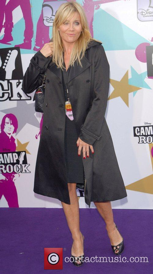 Michelle Collins Camp Rock - European TV premiere...