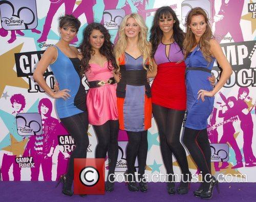 The Saturdays Camp Rock - European TV premiere...