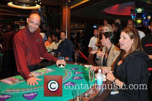 Celebrities attend the debut of Blackjack at the...