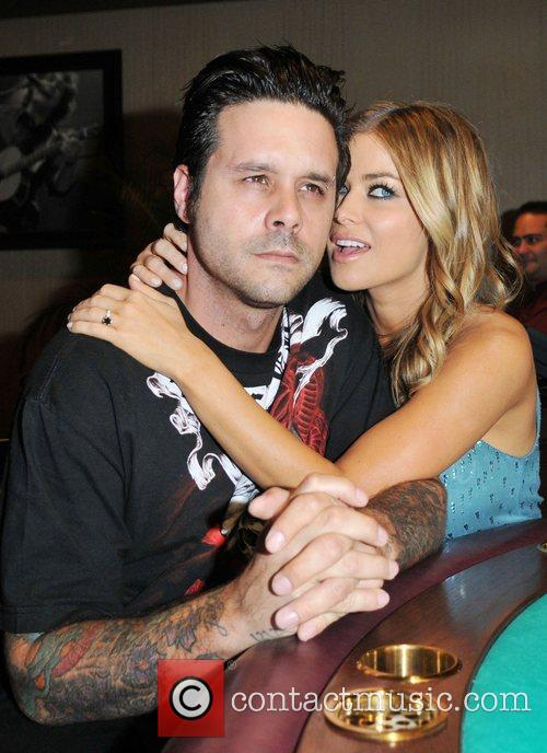Carmen Electra and fiance Rob Patterson 1