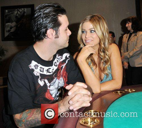 Carmen Electra and fiance Rob Patterson 5