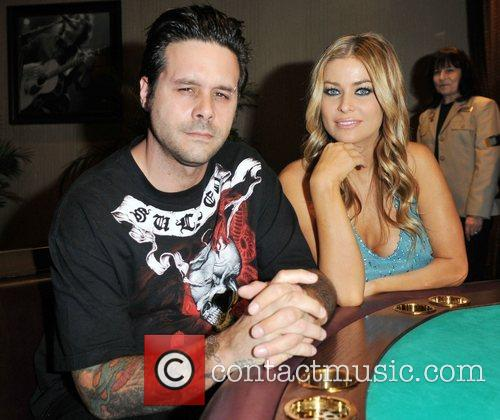 Carmen Electra and Fiance Rob Patterson 2