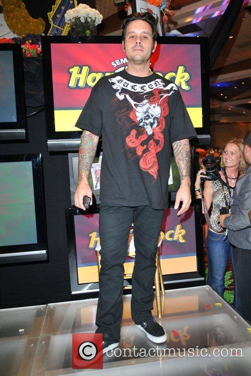 Rob Patterson of Korn  Celebrities attend the...