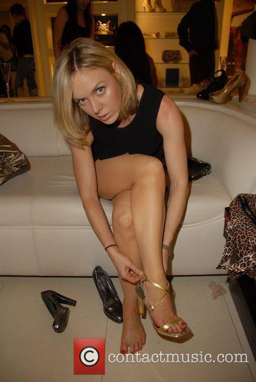 Shirly Brener Launch of Carmen Steffens 2008 Fall/Winter...
