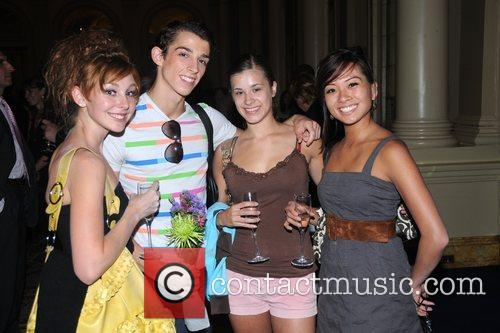 Chelsea Eliday, Andrew Daly, Carli Samuelson and Nicole...