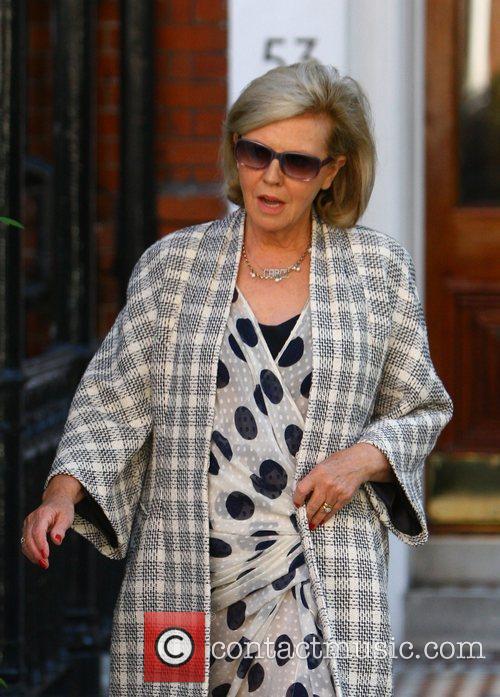 Kylie Minogue's mother Carol Minogue on her way...
