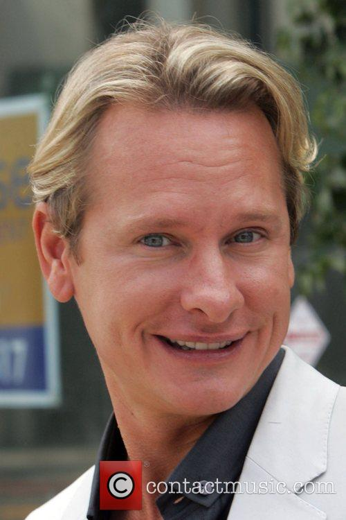 Carson Kressley from the television programme 'Queer Eye...
