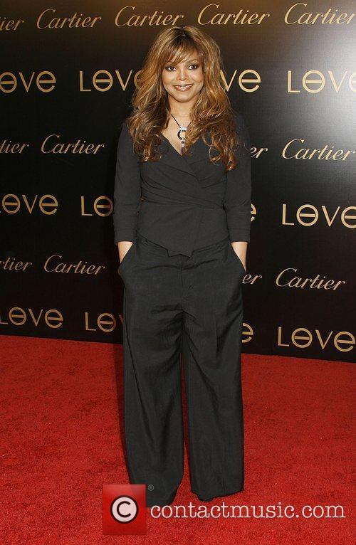 Janet Jackson Cartier Charity Love Bracelet Launch held...