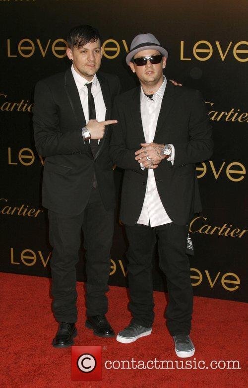 Joel Madden and Benji Madden of Good Charlotte...