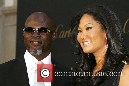 Djimon Hounsou and Kimmora Lee Simmons Cartier Charity...