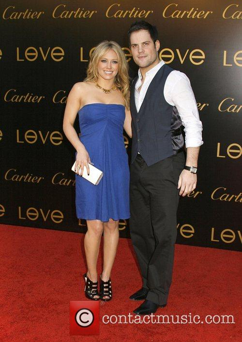 Hilary Duff and Mike Comrie Cartier Charity Love...