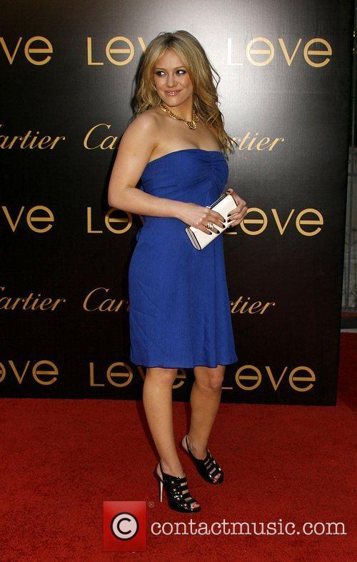 Hilary Duff Cartier Charity Love Bracelet Launch -...