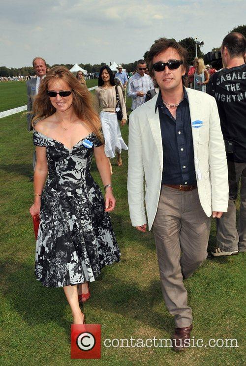 Richard Hammond Cartier International Polo tournament held a...
