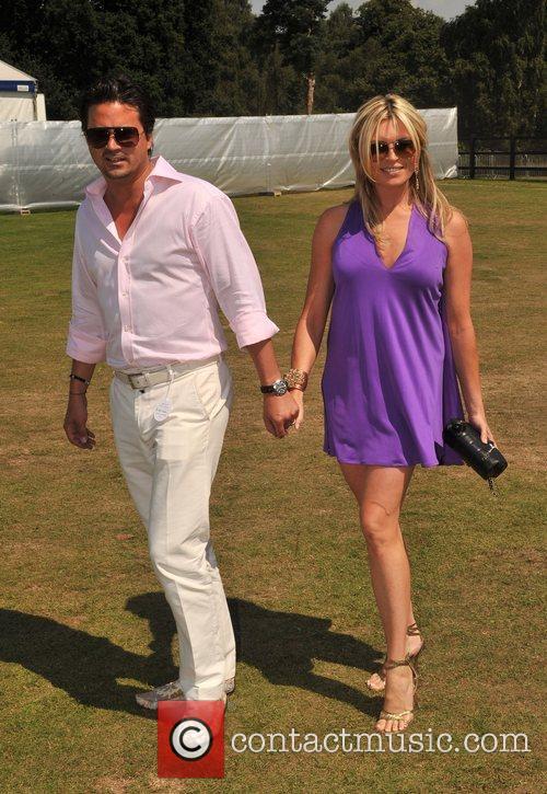 Tina Hobley Cartier International Polo tournament held a...