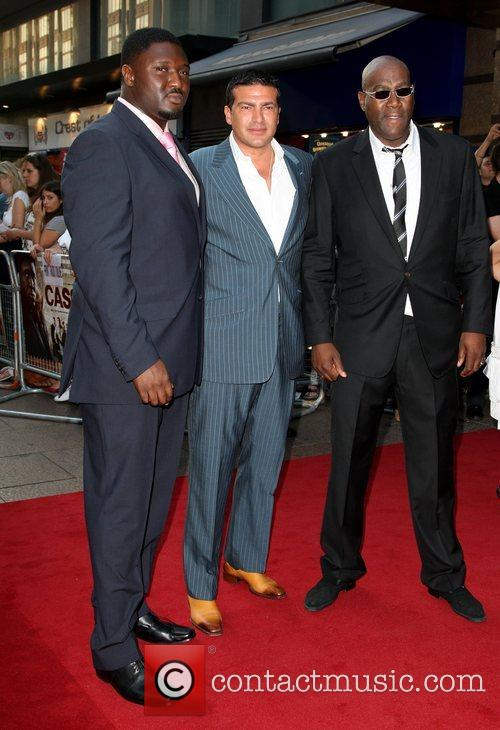 Cass Pennant, Tamer Hassan and Nonso Anozie Premiere...
