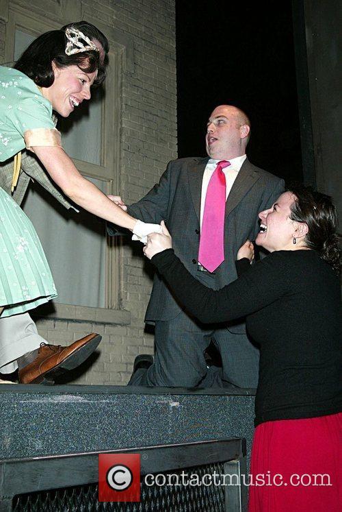 Leslie Kritzer, Mike Cyer, Risa Dublin Mike Cyr...