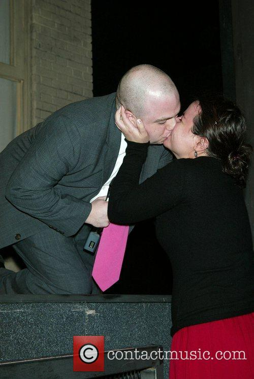 Mike Cyr proposes to Risa Dublin  after...