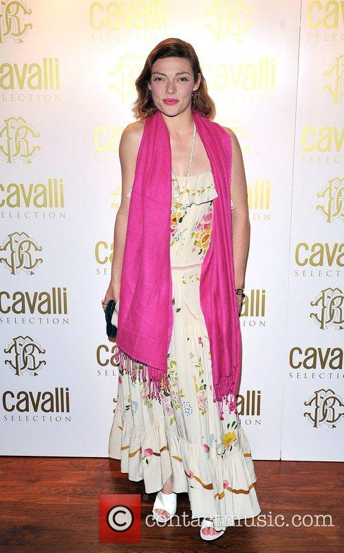Camilla Rutherford Roberto Cavalli Dinner & Wine Launch...