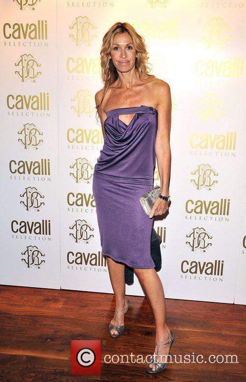 Roberto Cavalli Dinner & Wine Launch held at...
