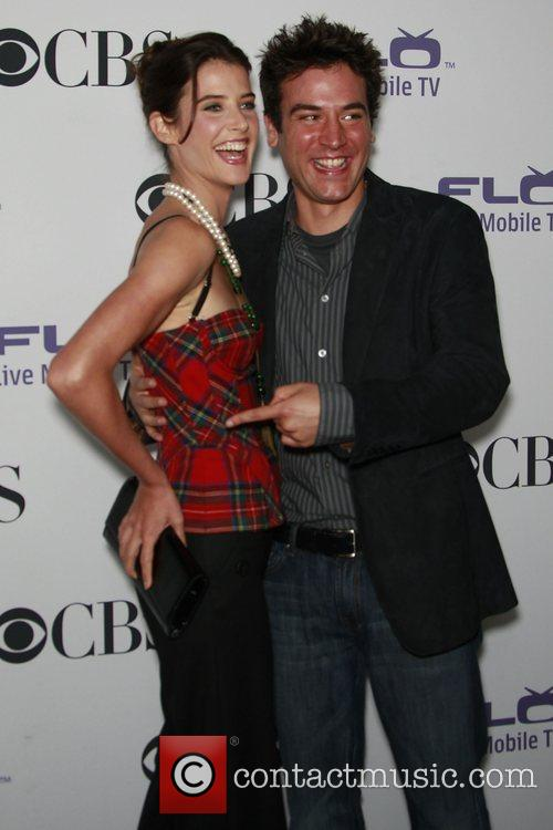 Cobie Smulders, Josh Radnor, CBS Comedy Party