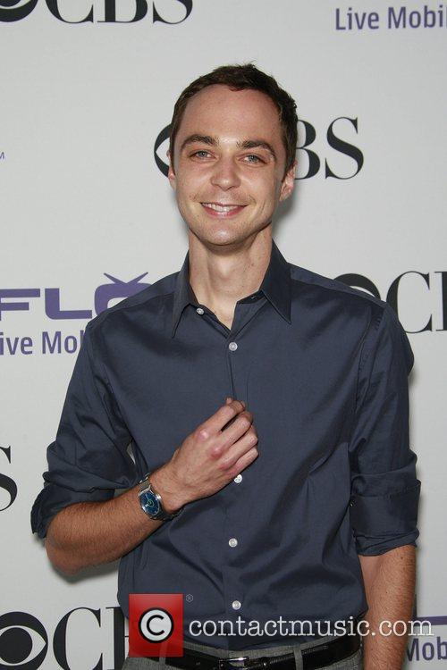 Jim Parsons With A Blue Paul Smith Watch 8