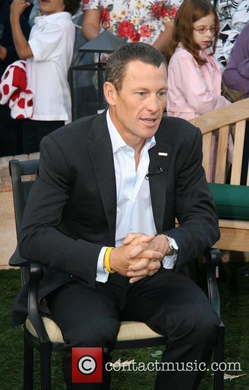 Lance Armstrong and Cbs 2