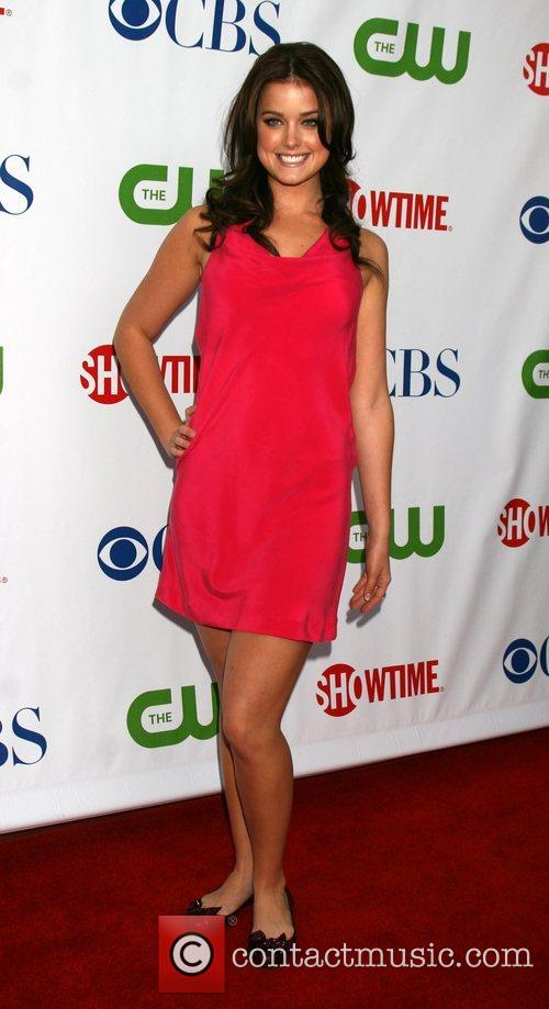 Arriving at the CBS TCA Summer 08 Party...