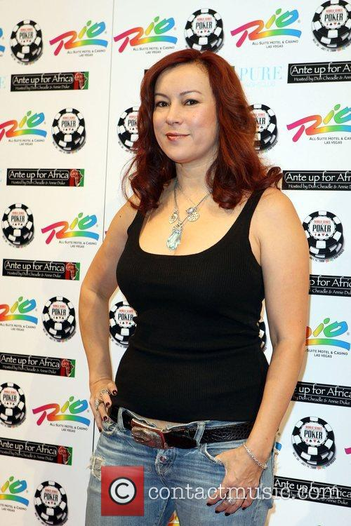 Jennifer Tilly 2nd Annual Ante Up for Africa...
