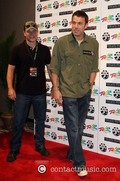 Matt Damon and Ben Affleck 2nd Annual Ante...