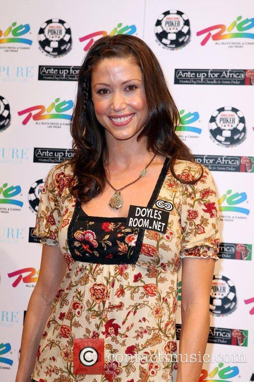 Shannon Elizabeth 2nd Annual Ante Up for Africa...
