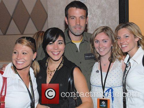 Ben Affleck poses with fans 2nd Annual Ante...