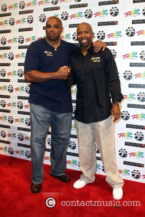 Charles Barkley and Kenny Smith 2nd Annual Ante...