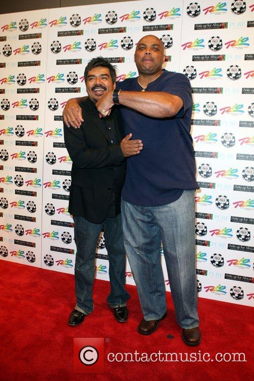 George Lopez and Charles Barkley 2nd Annual Ante...