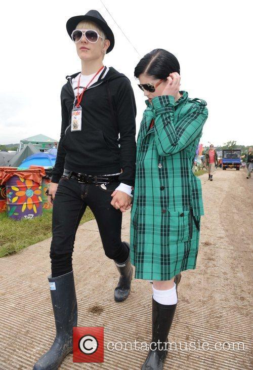 At Glastonbury Festival - Day One