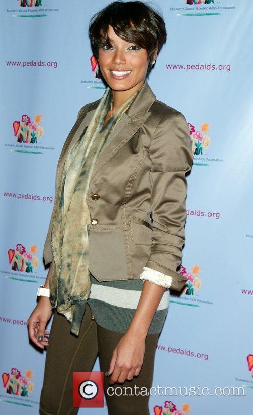 Selita Ebanks attending the 'Kids For Kids Carnival'...