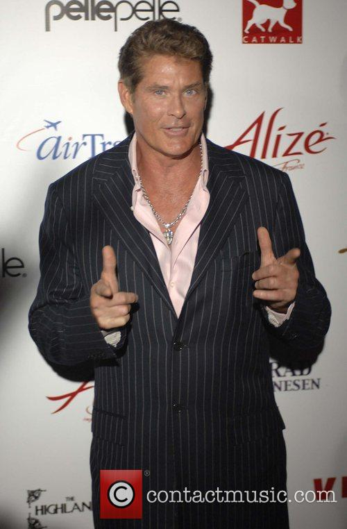 David Hasselhoff Celebrity Catwalk for Charity raises funds...